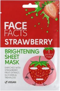 Face Facts Brightening Sheet Mask Strawberry