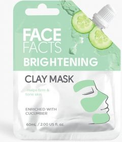 Face Facts Brightening Clay Mask with Cucumber (60mL)