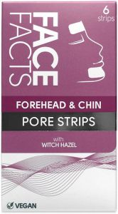Face Facts Forehead & Chin Pore Strips (6pcs)