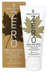 Skin Academy Zero Hand Cream 100% Natural With Shea Butter And Sweet Almond Oil (50mL)