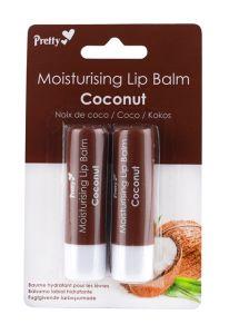 Pretty Lip Balms Coconut (2pcs)