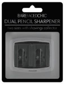 BareFacedChic Dual Pencil Sharpener