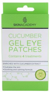 Skin Academy Gel Eye Patches Cucumber (4pairs)