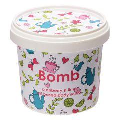 Bomb Cosmetics Body Scrub Cranberry & Lime (400g)