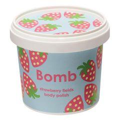 Bomb Cosmetics Body Polish Strawberry Fields (375g)