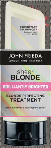 John Frieda Sheer Blonde Brilliantly Brighter Blonde Perfecting Treatment (120mL)