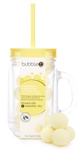 Bubble T Mason Jar Bath Fizzer Yellow (10x20g)