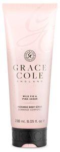 Grace Cole Body Scrub Wild Fig & Pink Cedar (238mL)