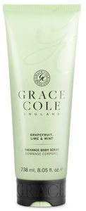 Grace Cole Body Scrub Grapefruit, Lime & Mint (238mL)