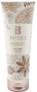 Boutique Vegan Body Scrub Mandarin, Basilik & Grapefruit (225g)