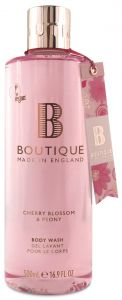Boutique Vegan Bath & Shower Gel Cherry Blossom & Peony (500mL)