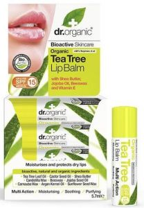 Dr. Organic Tea Tree Lipbalm (5,7mL)