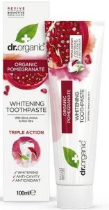 Dr. Organic Pomegranate Toothpaste (100mL)