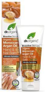 Dr. Organic Argan Night Hand Salve (Rich) (100mL)