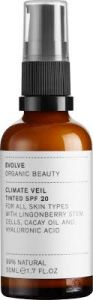 Evolve Organic Beauty Climate Veil Tinted SPF20 (50mL)