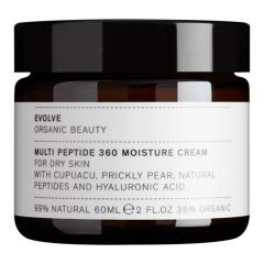 Evolve Organic Beauty Multi Peptide 360 Moisture Cream (60mL)