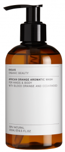 Evolve Organic Beauty African Orange Aromatic Wash (250mL)