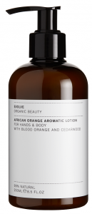 Evolve Organic Beauty African Orange Aromatic Lotion (250mL)