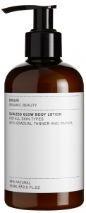Evolve Organic Beauty Sunless Glow Body Lotion (250mL)