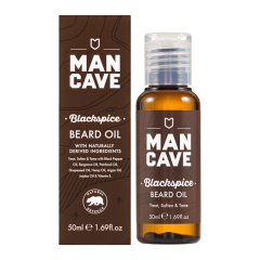 ManCave Blackspice Beard Oil (50mL)