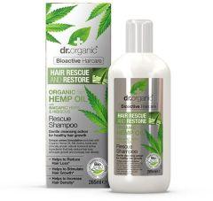 Dr. Organic Hemp Rescue Shampoo (265mL)
