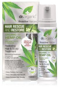 Dr. Organic Hemp Restoring Hair & Scalp Treatment (150mL)