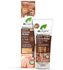 Dr. Organic Cocoa Butter Hand & Nail Cream (100mL)