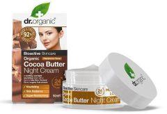 Dr. Organic Cocoa Butter Night Cream (50mL)