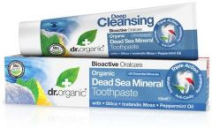Dr. Organic Dead Sea Toothpaste (100mL)