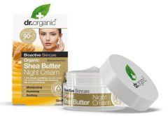 Dr. Organic Shea Butter Night Cream (50mL)