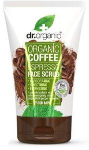 Dr. Organic Coffee Mint Face Scrub (125mL)