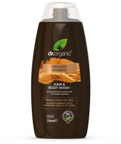 Dr. Organic Mens Face, Body & Hair Wash (250mL)