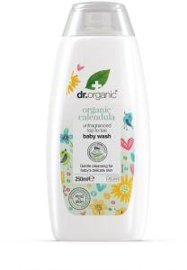 Dr. Organic Calendula Baby Body Wash (250mL)