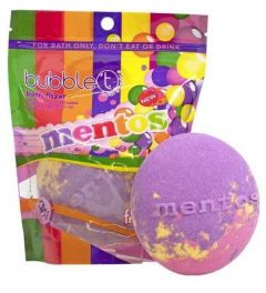Bubble T Mentos Rainbow Bath Fizzer (150g)
