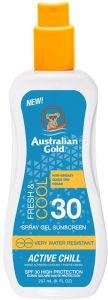 Australian Gold SPF 30 Spray Gel Active Chill (247mL)