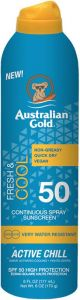 Australian Gold SPF 50 Continius Spray Active Chill (177mL)
