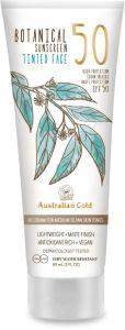 Australian Gold Botanical SPF 50 Tinted Face Medium -Tan (88mL)
