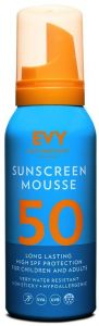 EVY Sunscreen Mousse SPF50 (100mL)