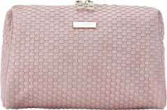 JJDK Cosmetic Bag Bellami Soft Pink Weave PU (25x16x14,5) 61340