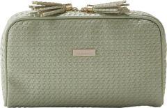 JJDK Cosmetic Bag Palm Soft Green Wowen PU (25x15x9) 61364