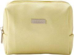 JJDK Cosmetic Bag Summer Soft Yellow PU (12x12x6) 61378
