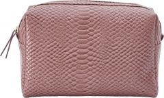 JJDK Cosmetic Bag Serena Old Rose Croco PU (26x16x12) 75172