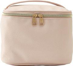 JJDK Cosmetic Bag Siri Soft Pink PU (21 x 15 x 15 ) 90304