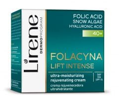 Lirene Folacin Ultra-Moisturizing & Rejuvenating Day Cream 40+ SPF15 (50mL)