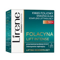Lirene Folacin Anti-Wrinkle Intense Tightening Day Cream 50+ (50mL)