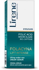 Lirene Folacin Eye-Area Cream-Serum (15mL)