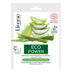 Lirene Eco Power Moisturzing & Soothing Sheet Mask