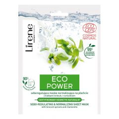 Lirene Eco Power Sebo-Regulating & Normalizing Sheet Mask