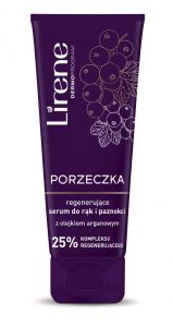 Lirene CURRANT Regenerating Serum for Hands and Nails with Argan oil (75mL)