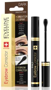 Eveline Cosmetics Eyebrow Corrector (9mL) Dark Brown